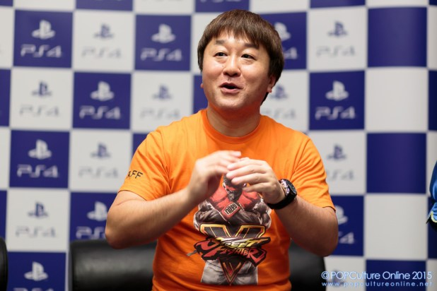 GameStart 2015 Street Fighter V Yoshinori Ono Interview Playstation