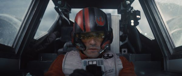 Star Wars: The Force Awakens..Poe Dameron (Oscar Isaac)..Ph: Film Frame..©Lucasfilm 2015