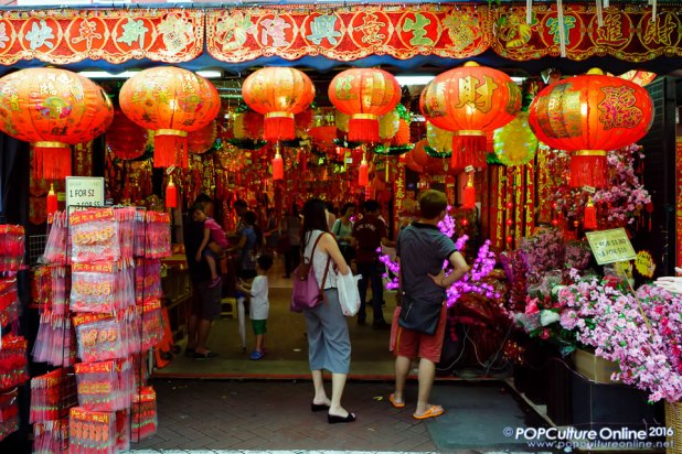 A Trip to Chinese New Year Street Bazaar at Chinatown Singapore 2016 Photo 05
