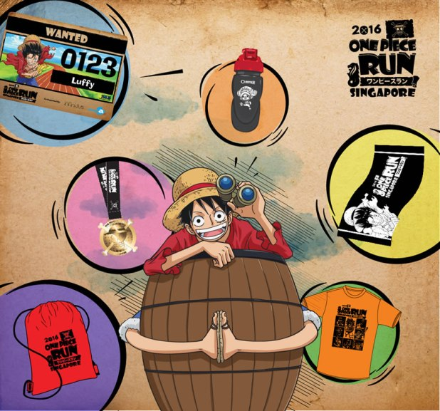 One Piece Run Singapore Image artwork