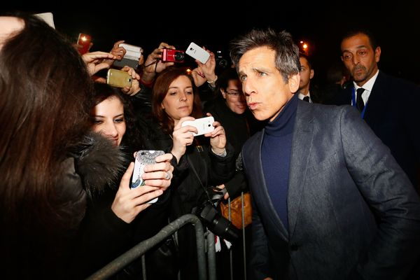 ROME, ITALY - JANUARY 30:  Ben Stiller attends the Rome Fan Screening of the Paramount Pictures film 'Zoolander No. 2' at The Space Moderno - Piazza della Repubblica on January 30, 2016 in Rome, Italy.  (Photo by Ernesto Ruscio/Getty Images for  for Paramount Pictures) *** Local Caption *** Ben Stiller