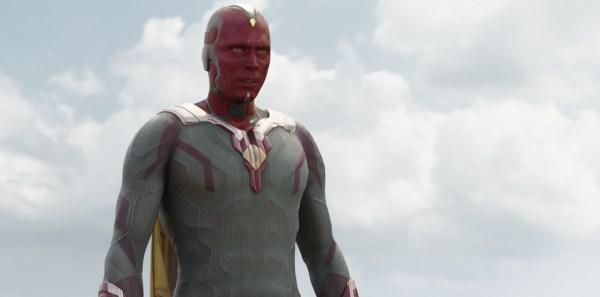 Marvel's Captain America: Civil War..Vision (Paul Bettany)..Photo Credit: Film Frame..© Marvel 2016