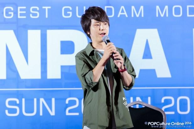 Gunpla Expo 2016 Stage Segment Kengo Kawanishi