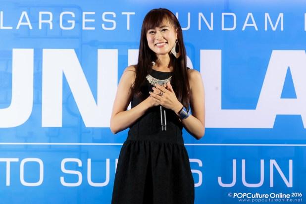 Gunpla Expo 2016 Stage Segment TRUE Miho Karasawa