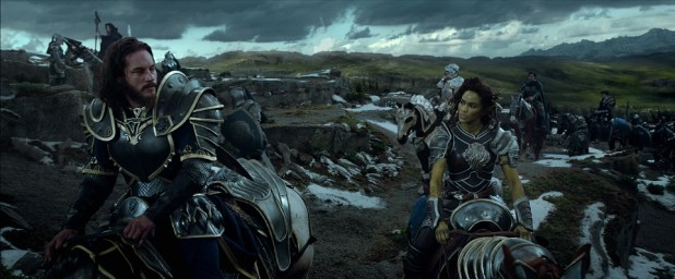Lothar and Garona from Warcraft: The Beginning | Image courtesy of United International Pictures