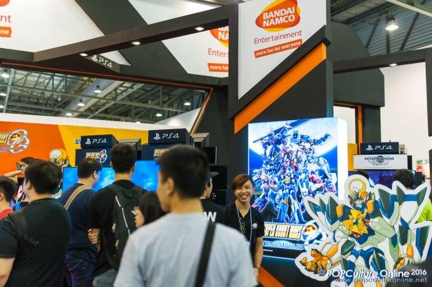 C3 CharaExpo 2016 Namco Bandai Entertainment Booth