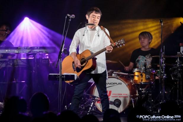 YUZU ASIA TOUR 2016 Summer NATSUIRO Singapore Koji Iwasawa