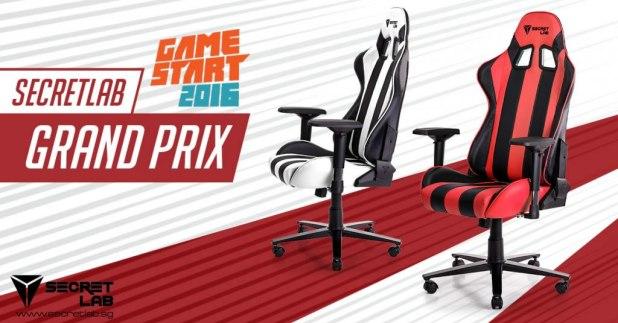 GameStart 2016 Secretlab Grand Prix