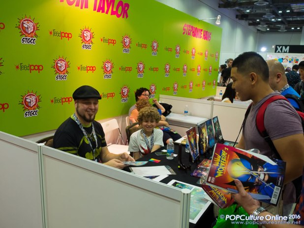 STGCC 2016 Guest Tom Taylor Booth