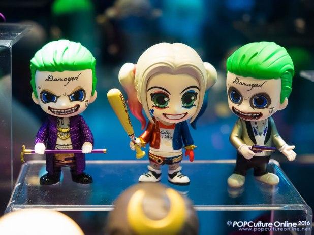 STGCC 2016 Hot Toys Suicide Squad Cosbaby Joker Harley Quinn