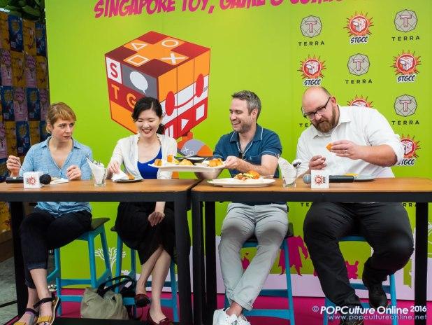 STGCC 2016 Media Preview Nick Spencer Emma Rios Hwei Lim Jon-Paul Kaiser Local Food