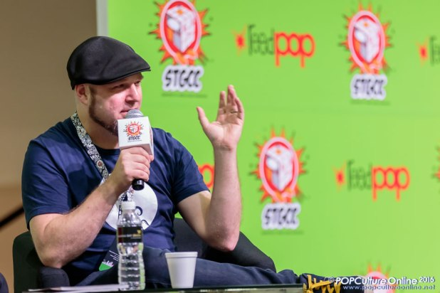 STGCC 2016 Tom Taylor Interview Stage Panel
