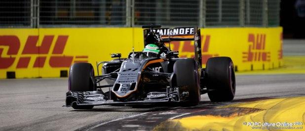 Singapore Grand Prix 2016 Force India Nico Hulkenberg