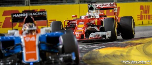 Singapore Grand Prix 2016 Scuderia Ferrari Sebastian Vettel