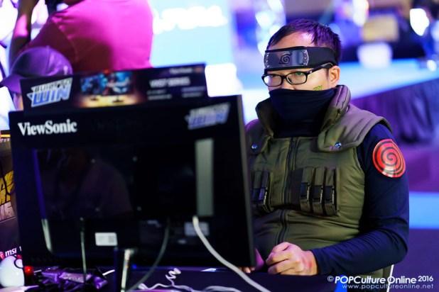 GameStart 2016 Cosplayer Naruto Leaf Village