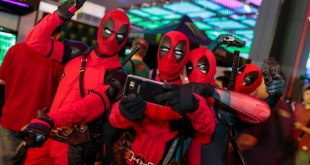 GameStart 2016 Cosplayers Deadpool