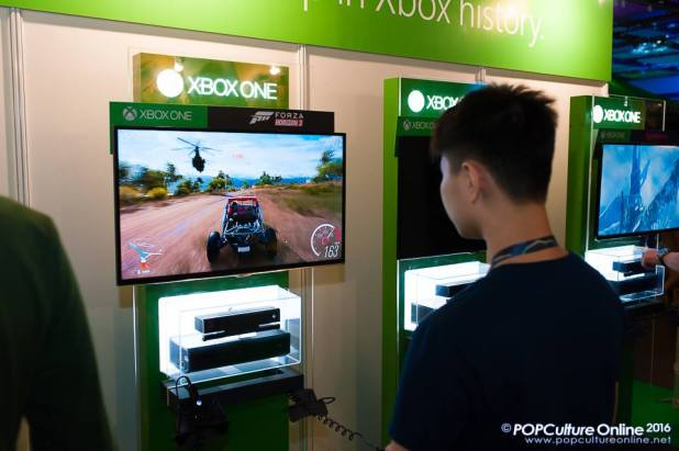 GameStart 2016 Microsoft Xbox One Booth Forza Horizon 3