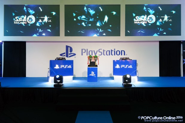 GameStart 2016 Sony Playstation 4 Booth eSports