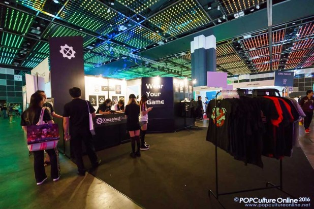 GameStart 2016 Xmashed Gear Booth