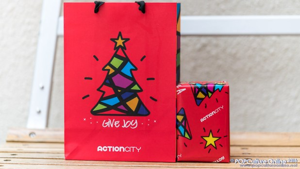 Action City Christmas Bag and Wrapping Paper