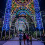 Christmas Wonderland 2016 Gardens by the Bay Luminarie light sculptures