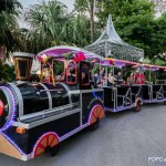 Christmas Wonderland 2016 Gardens by the Bay Tram