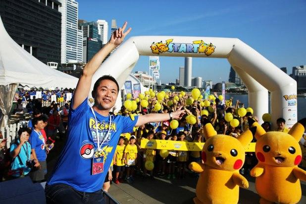 Pokémon Run Singapore 2017 Kids Wave with Masuda