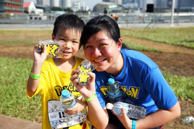 Pokémon Run Singapore 2017 Medals