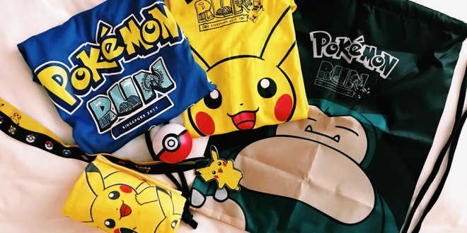 Race Pack for Pokemon Run Singapore 2017