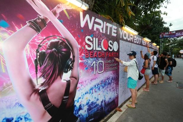 Siloso Beach Party (SBP) 2016 - Resolution Board