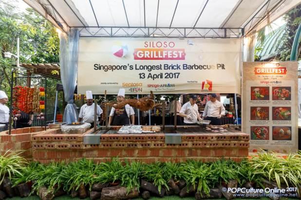 Sentosa Siloso GrillFest Singapore Longest Brick Barbecue Pit