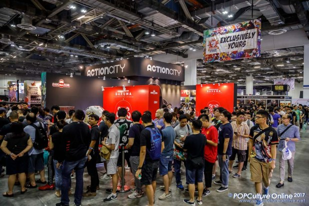 Singapore Toy Game Comic Convention STGCC 2017 Action City