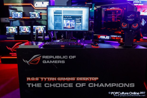 Singapore Toy Game Comic Convention STGCC 2017 Asus ROG