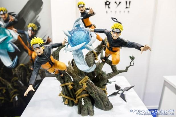 Singapore Toy Game Comic Convention STGCC 2017 Ryu Studio Naruto