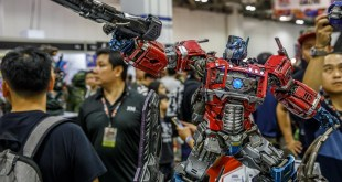 Singapore Toy Game Comic Convention STGCC 2017 XM Studios Optimus Prime