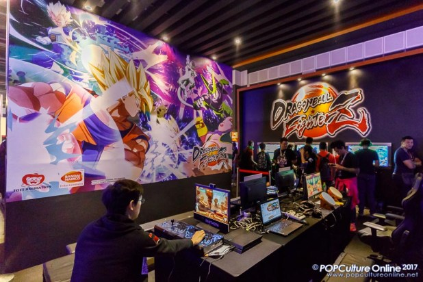 GameStart 2017 Bandai Namco Entertainment Asia Dragon Ball FighterZ