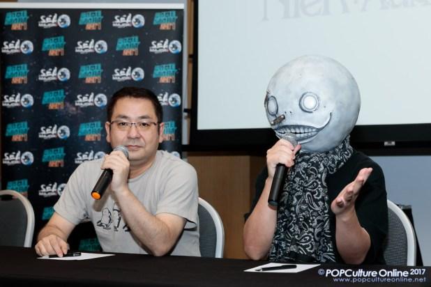 GameStart 2017 Interview Nier Automata Director Yoko Taro Producer Saitou Yosuke