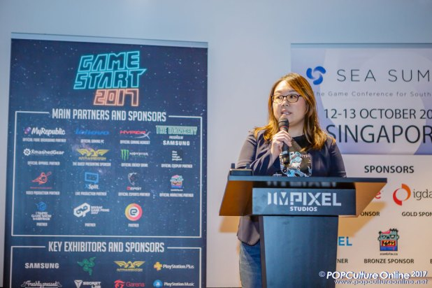 GameStart-2017-Press-Conference-02-Elicia-Lee-Founder-of-GameStart-Asia