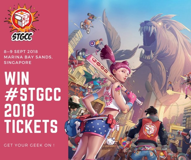 STGCC2018 Ticket Giveaway Image