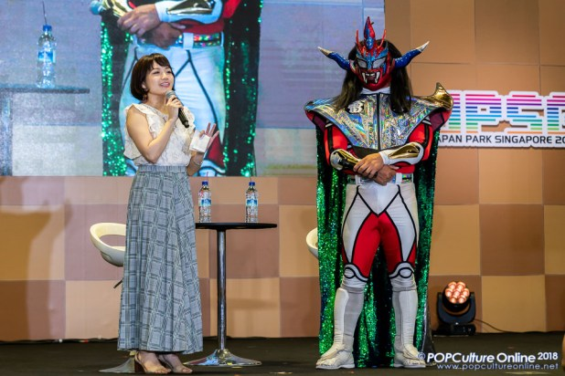 Interview with Jushin Thunder Liger Japan Park Singapore
