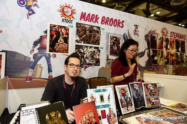 STGCC 2018 Event Guest Mark Brooks