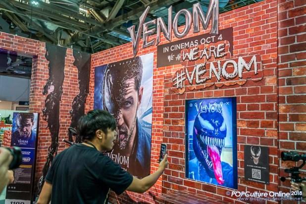 STGCC 2018 Event Venom Booth