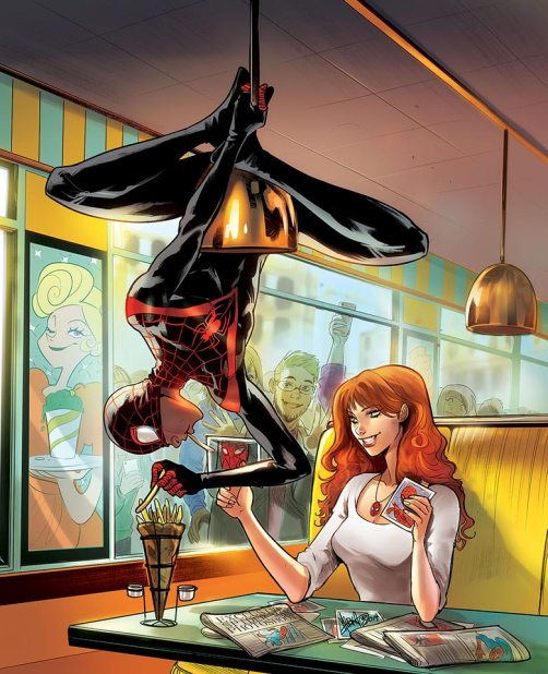 Singapore Comic Con SGCC 2019 Mirka Andolfo Spider-Man Mary Jane Comic