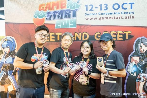 GameStart 2019 Meet and Greet Takashi Tokita Producer Square Enix Creative Producer Oninak
