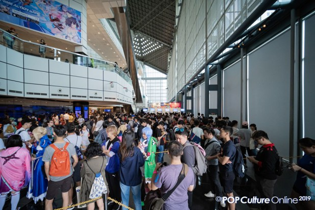 C3 Anime Festival Asia Singapore 2019 Crowd Ticket Queue