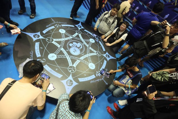 C3AFASG18 Fate Grand Order booth