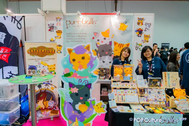 Singapore Comic Con SGCC 2019 Event Artist Alley Purrballs