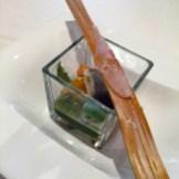 Mozzarella, salmone, ortica