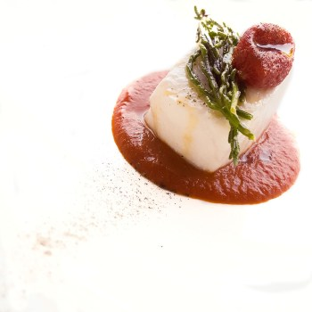 Morone, salsa pomodoro e menta