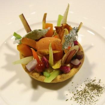 Enoteca Pinchiorri Tartelletta di frutta e verdura